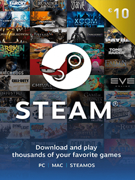€10 Steam Wallet Code