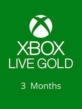 Xbox Live Gold 3 month